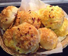 Rezept Käse / Speckbrötchen von Grazia64 - Rezept der Kategorie Brot & Brötchen
