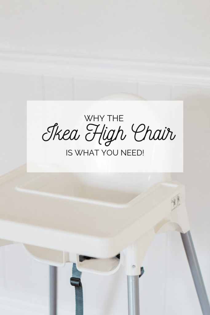 Ikea Antilop High Chair is part of Antilop high chair - When it was time for Rosy to start using a high chair, we had just