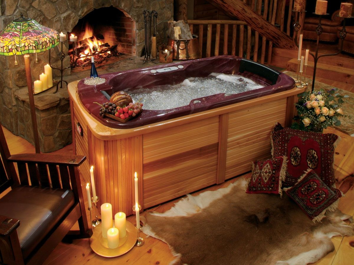 Look At The Rug Hot Tub Enclosure Pinterest Hot Tubs Tubs And Hot Tub Room