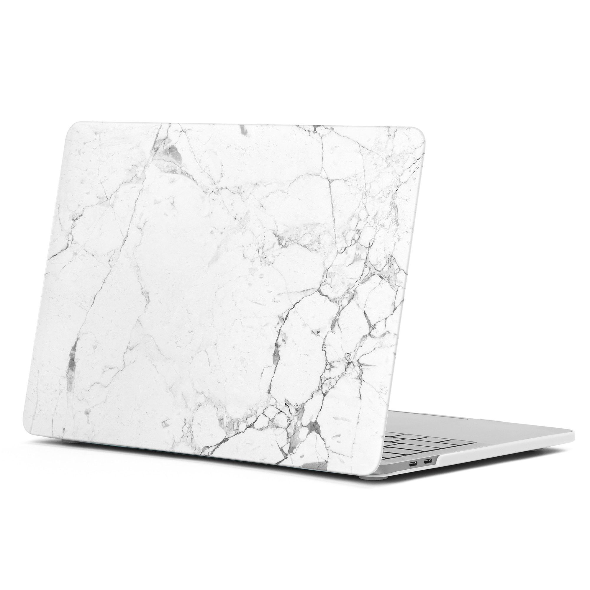 Hard Case Print Frosted Marble Pattern For Apple New MacBook Pro 13 Inch With