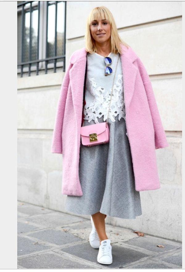 12 magnifiques manteaux rose pour cet hiver