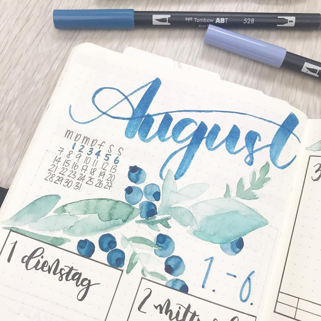 Pin By Rie On Bullet Journal