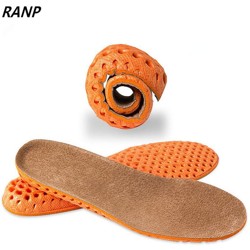 4D Men and Women Universal Sole Flat Insole Support Orthopedic Massage Sport Mat