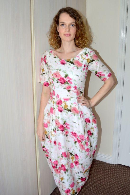 Elisalex Dress | Kollabora #kollabora #DIY #sewing