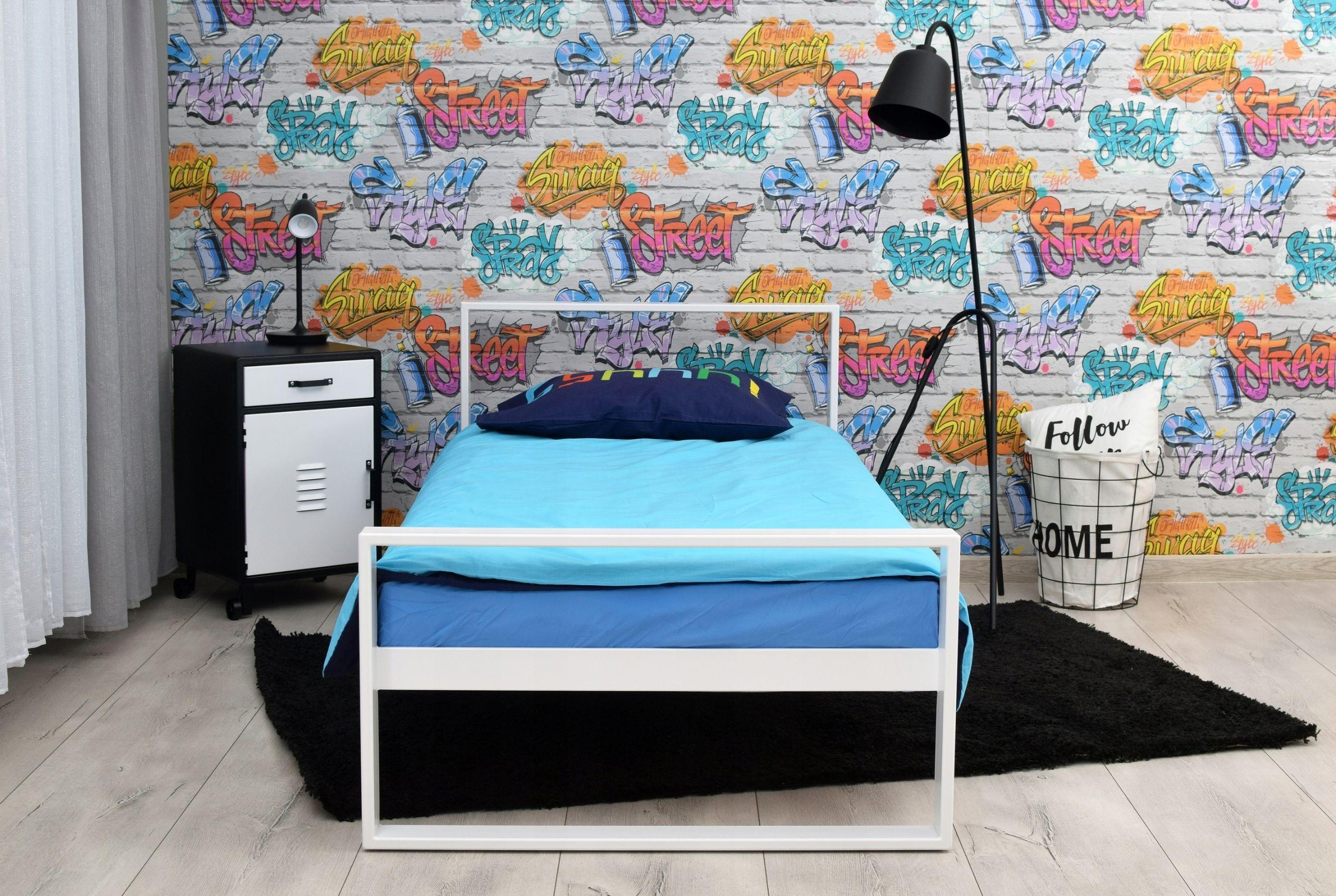 Pojedyncze łóżko Metalowe Mini Q 90x200 Cm Meble W 2019