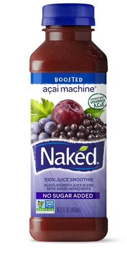 Naked Juice Blue Machine Cooking Strawberry Spinach Smoothie