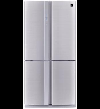 Sharp Sjfp676vsl 676l French Door Fridge American Fridge Freezers American Style Fridge Freezer Contemporary Kitchen Design