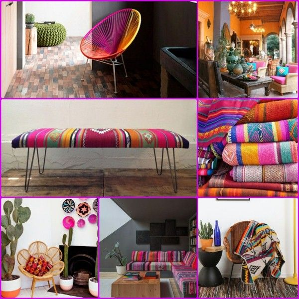 if you love strong emotions then you would find great certainly also the mexican style in the interior design - Mexican Interior Design Ideas