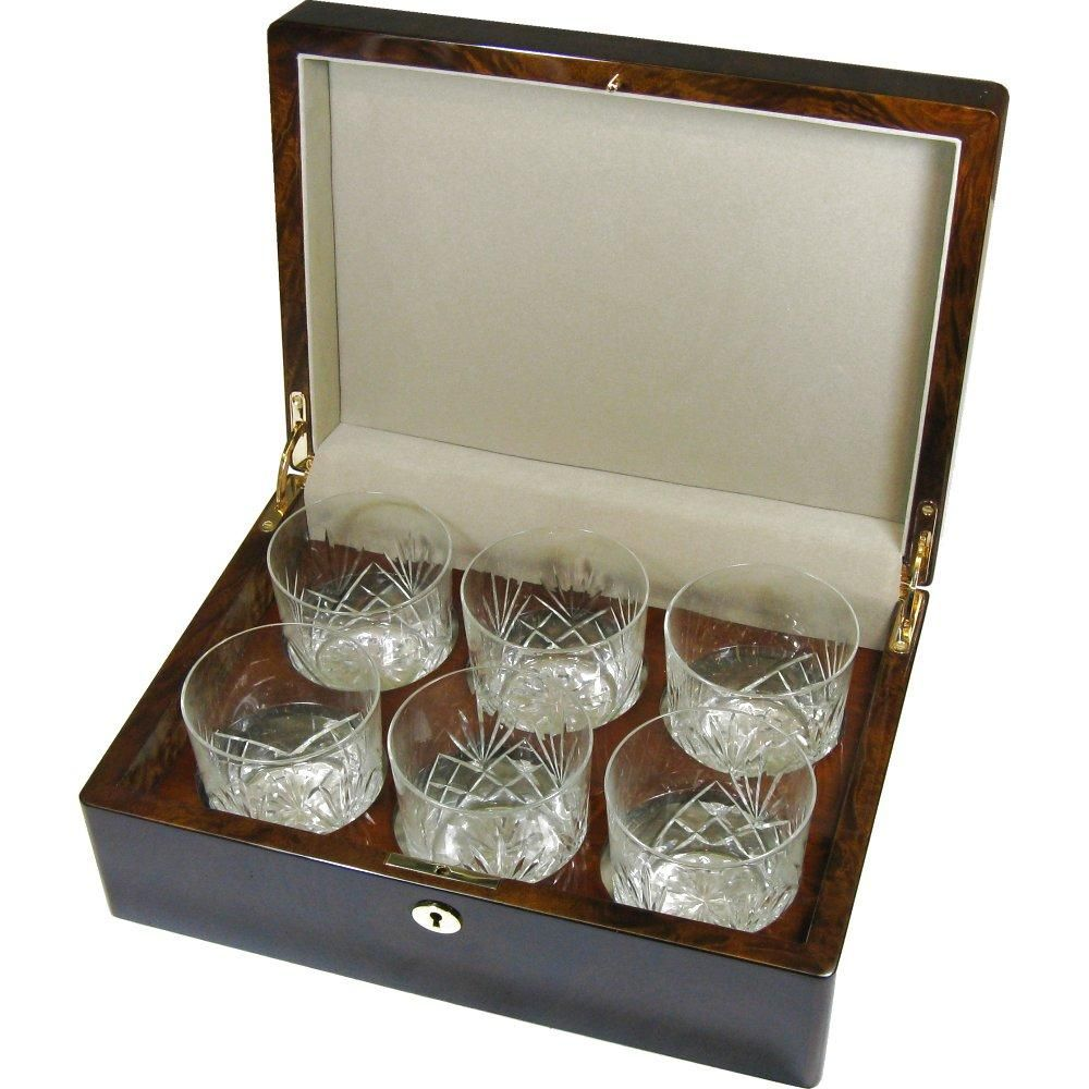 Gifts for Men. A Whiskey Glass Carrying Case. Very