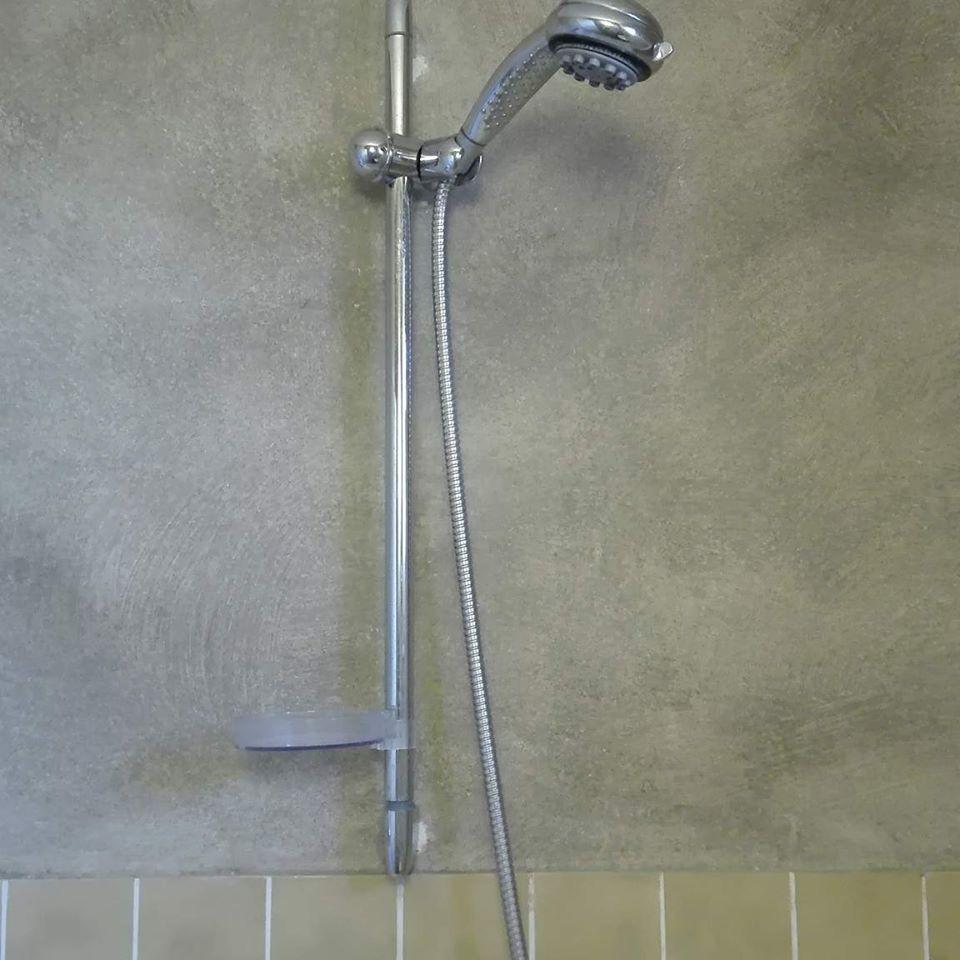 pin van de oude bank op betonlook verf badkamer pinterest verf