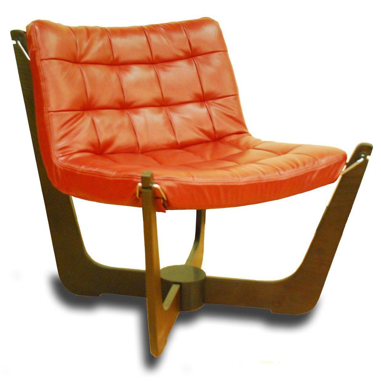 ergonomic chair norway hanging groupon norwegian scandinavian lounge vanity side furniture genuine leather