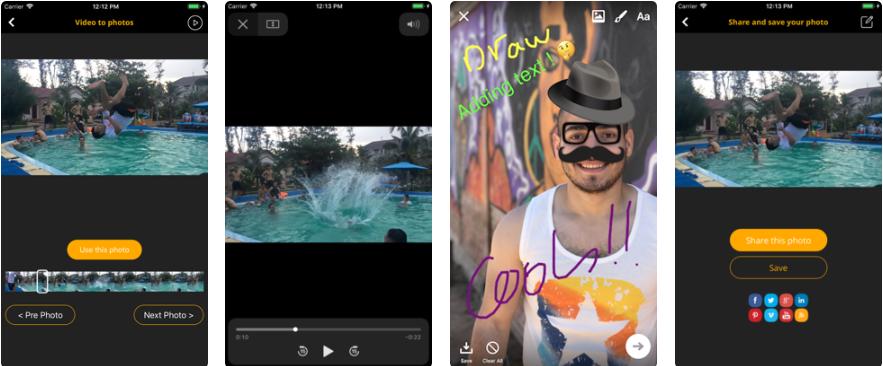 تطبيق Video To Pic Share Nice Photo لاستخراج كل الصور من أي فيديو Girl Photography Poses Cool Photos Photography Poses