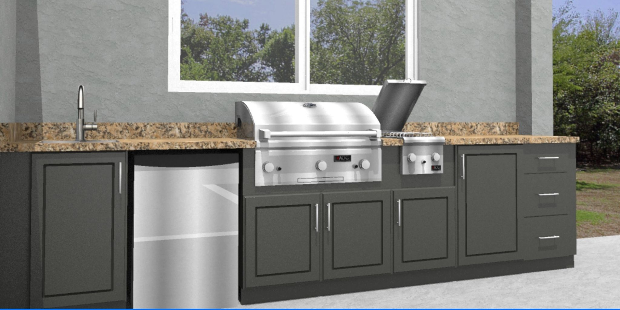 Polymer Cabinets For Outdoor Kitchens Favorite Interior Paint Colors Check Mor Outdoor Kitchen Cabinets Outdoor Kitchen Appliances Kitchen Cabinets With Sink