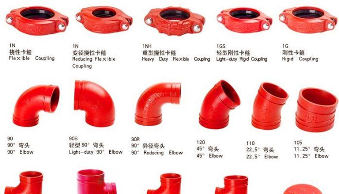 Pin On Grooved Pipe Fittings