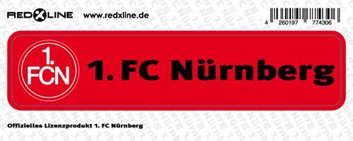 1 FCN | FCN Aufkleber - Bild vergrößern