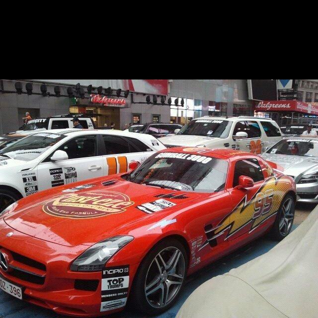 Real Life Lightning Mcqueen Lightning Mcqueen Sports Car Car