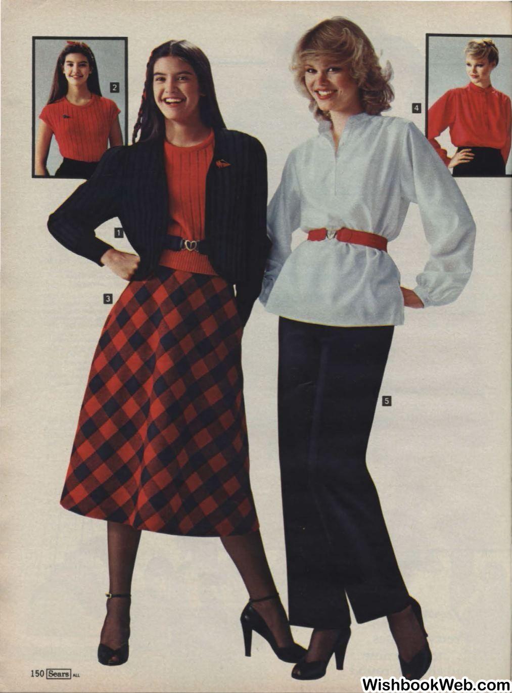 ff758a552d 1979 Sears Wishbook 1980s Christmas, Christmas Catalogs, 80s Fashion,  Vintage Fashion, Womens