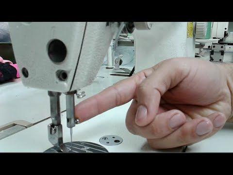 Como Poner A Tiempo La Barra De Aguja Con El Cangrejo De La Recta Industrial Mecanica Confeccion Tijeras De Costura Trucos Para Coser Artesanías De Costura