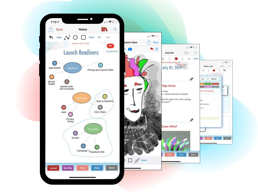 Use Davinci Notes To Create And Collect Different Ideas Business Inspiration Brainstorming Notes
