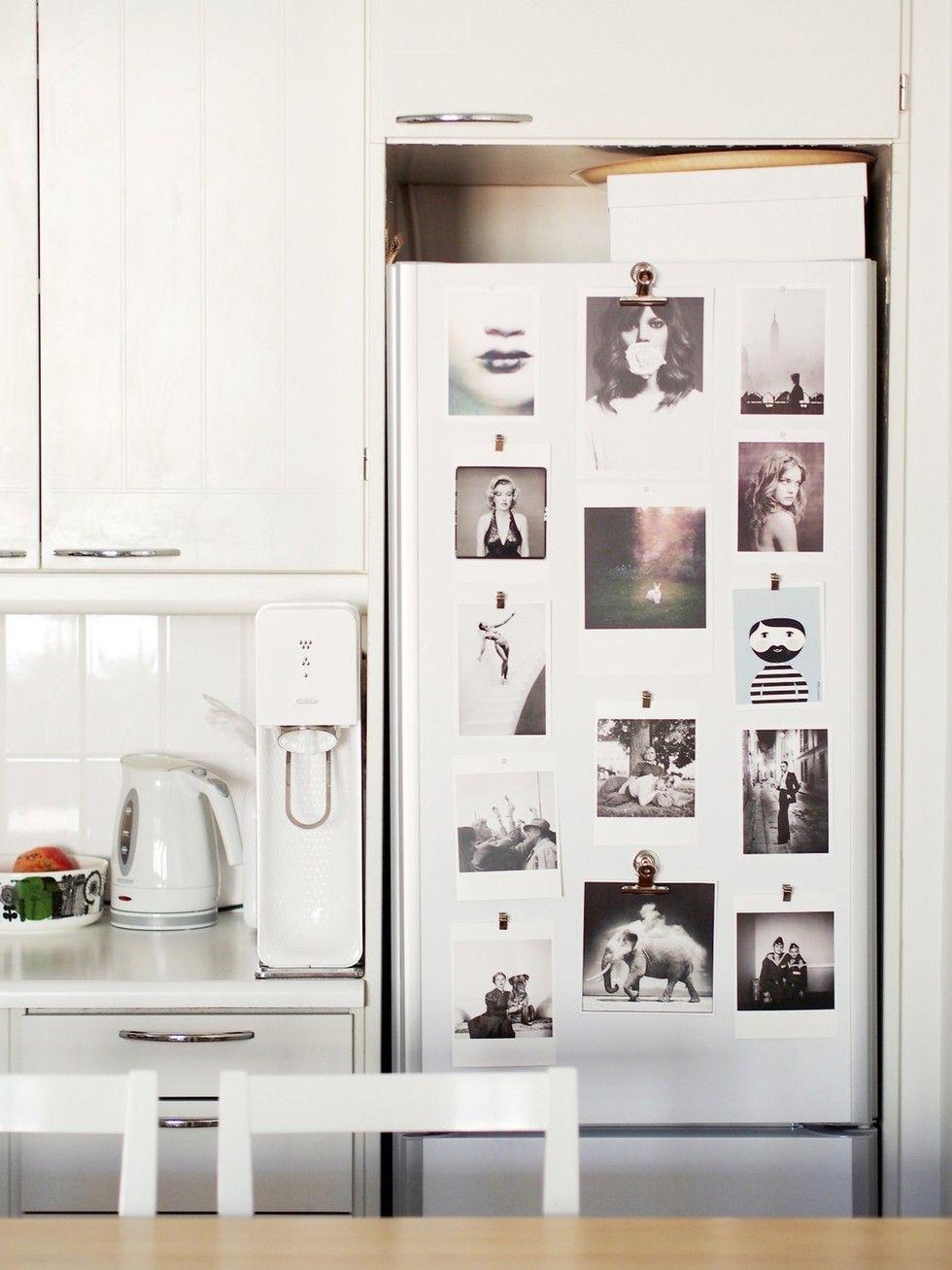 Vaihtuva näyttely jääkaapin ovessa | Inspiraatioseinä, tauluseinä - Pupulandia | Lily.fi