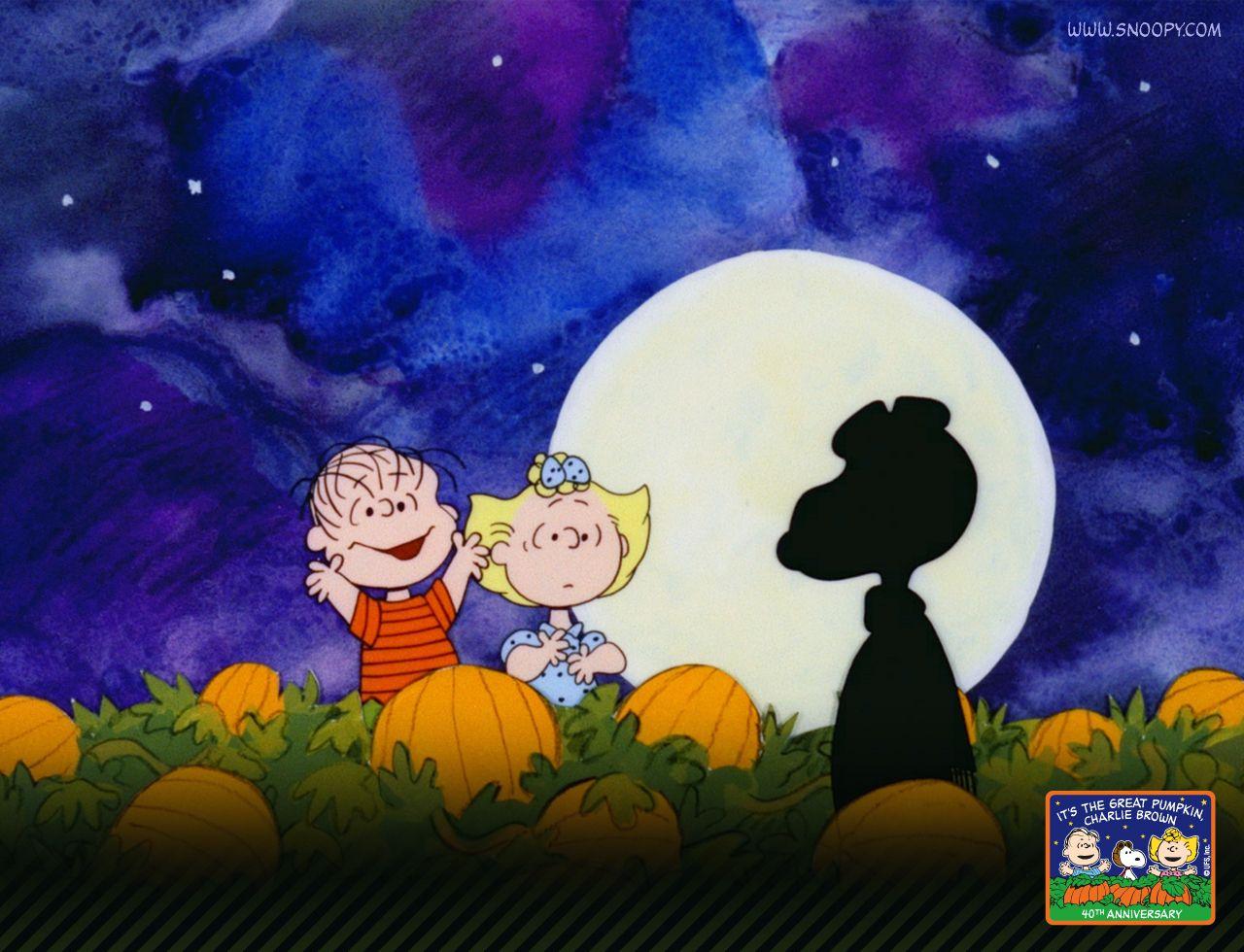 Peanuts Halloween Wallpaper | Snoopy Desktops / free Movie ...