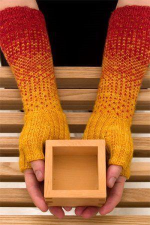 Shibui Patterns - Transition Gloves | Modern colors, Fair isles ...