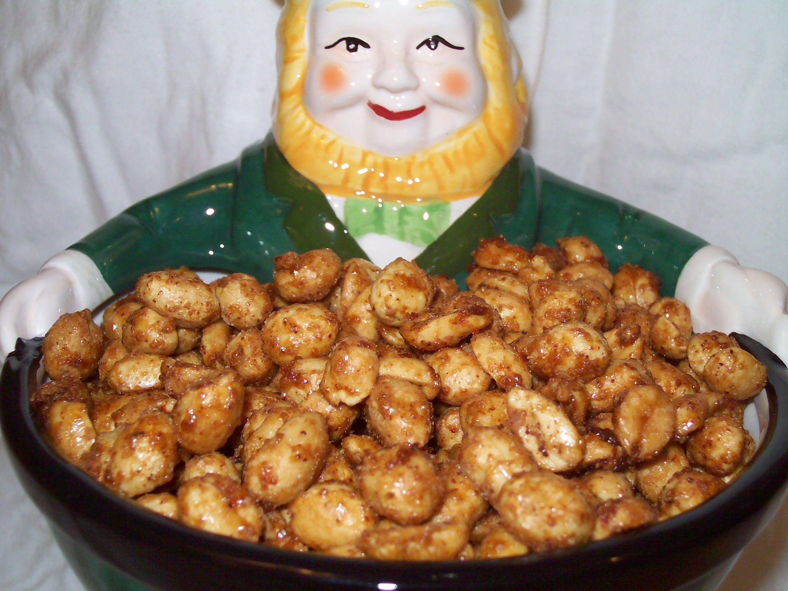 Bbq peanuts recipe recipe peanut recipes