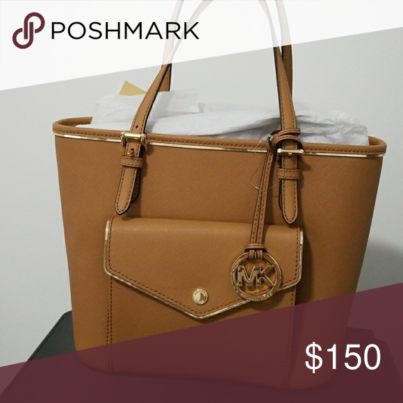 a6bffd964edc Michael Kors Saffiano Frame Tote 38F7YFMT2L MICHAEL KORS 100% Authentic!  Guaranteed! Saffiano Frame