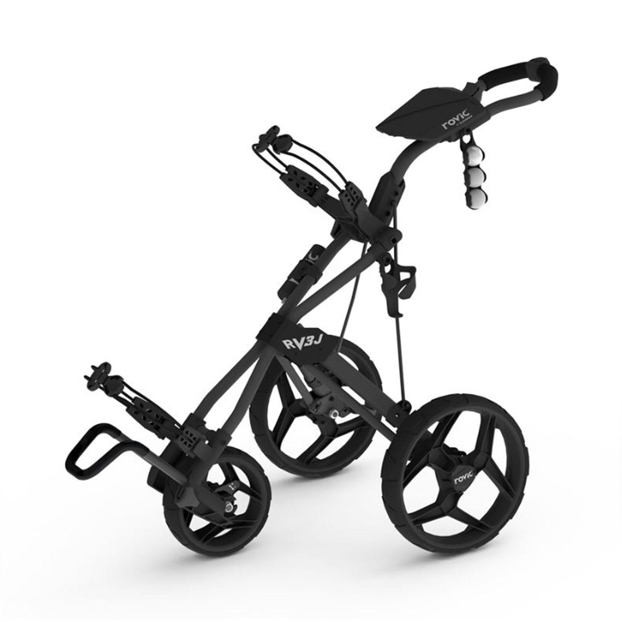 Clicgear Rovic Rv3J - Junior Golf Push Cart   Sports   Pinterest   on electric three wheel, junior golf pull carts 3 wheel, push cart replacement wheel,