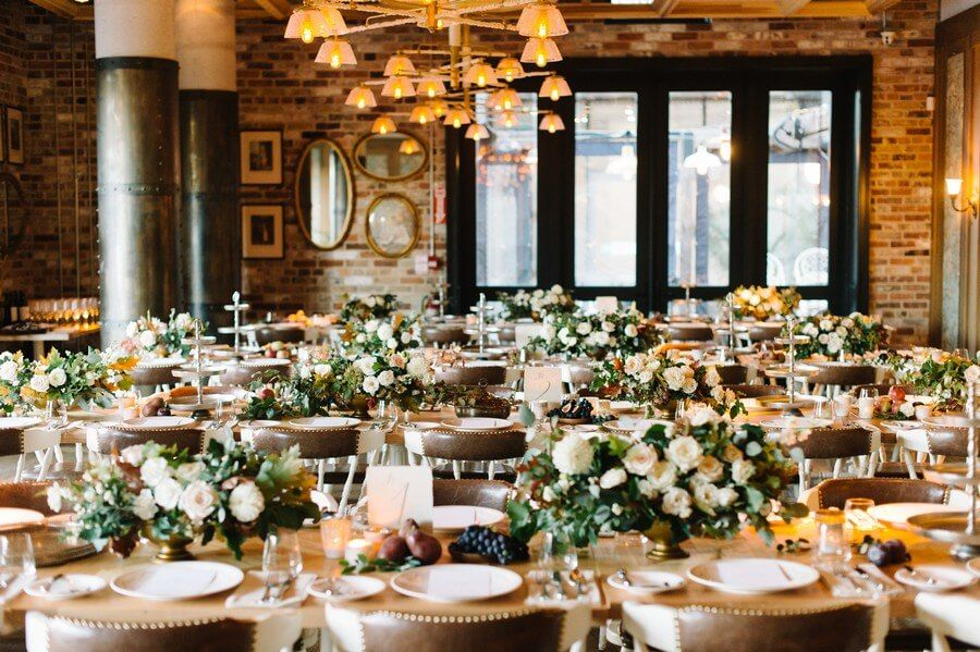 If The Idea Of An Intimate Restaurant Wedding Eals To You Check Out These Awesome Restaurants That Are Perfect For Weddings