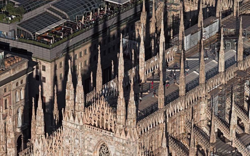 Milano vista dall'alto Foto, Milano e Luoghi