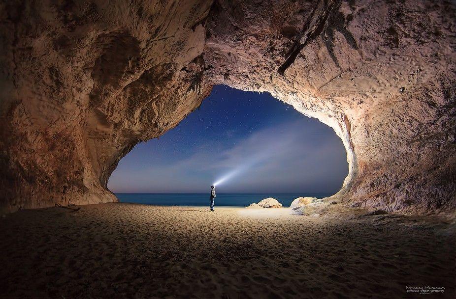 Cala Luna Beach Cave Sardinia Italy Exploring Paradise