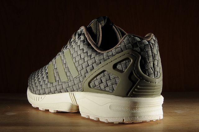 adidas zx flusso riflettente riflettente riflettente (olive) - scarpa sgorbio ya na 4a1cb8