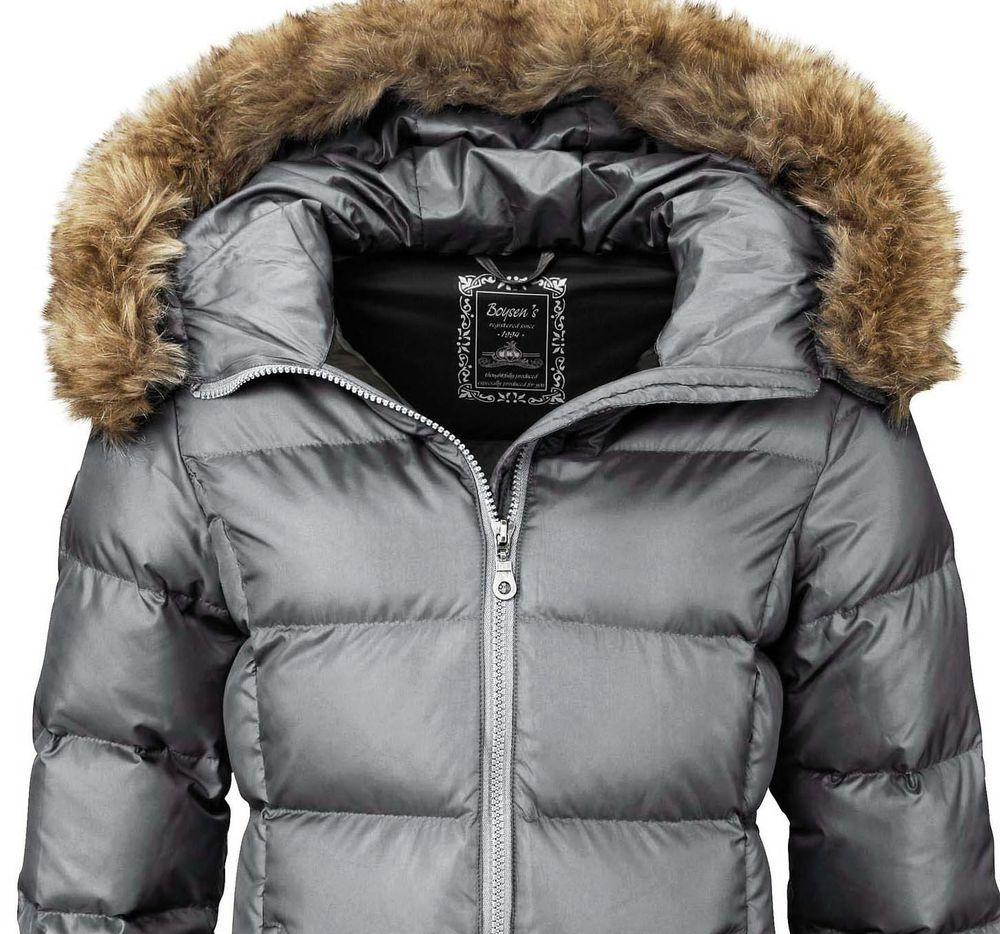meet 447bd 3a768 Damen Echt Daunenjacke grau Neu Gr.38/M | Ebay Fashion ...
