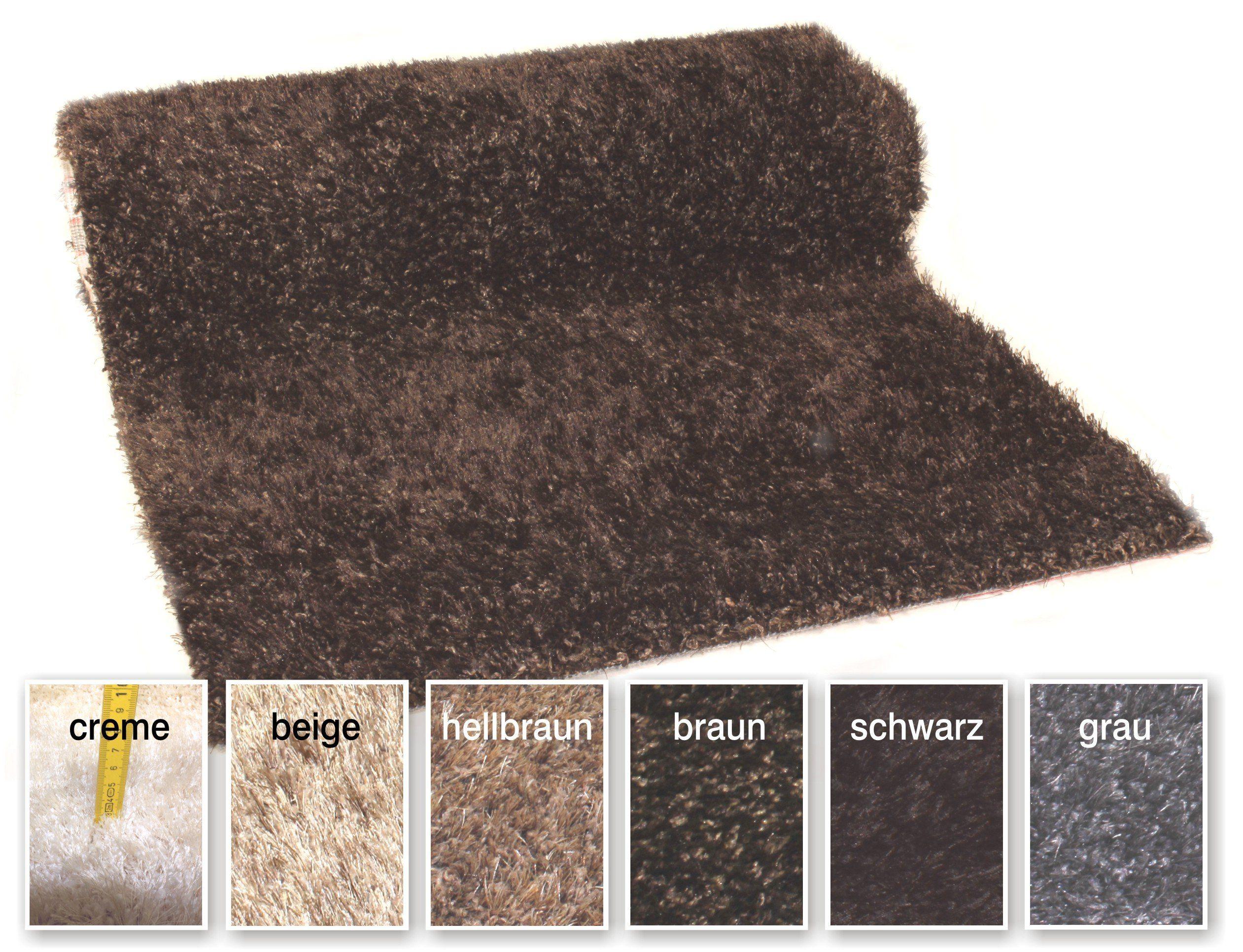 Amazon De Teppich Shaggy Teppichlaufer Denver Braun Brucke Laufer Flur Meterware 70 Cm Breit Teppich Teppichlaufer Teppich Braun