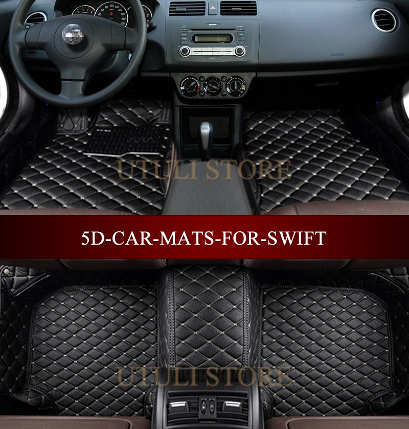 Car Floor Mats For Suzuki Swift Sport 2004 2017 3d Custom Fit Car Carpets Foot Mats Liners Volkswagen Phaeton Car Floor Mats Fit Car