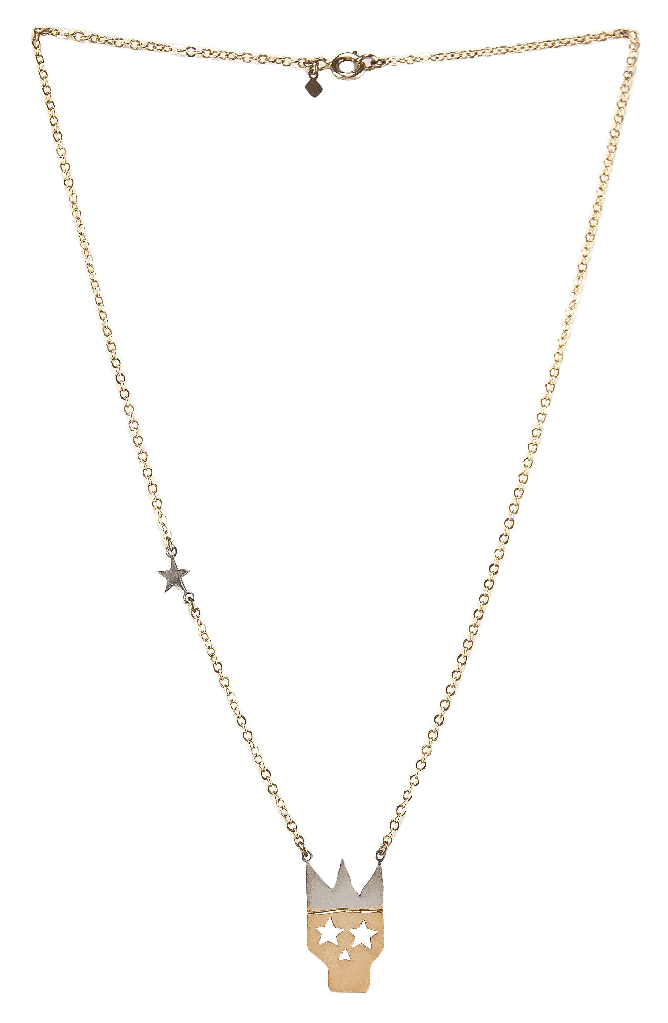 Alphabeta - Crown Me Necklace