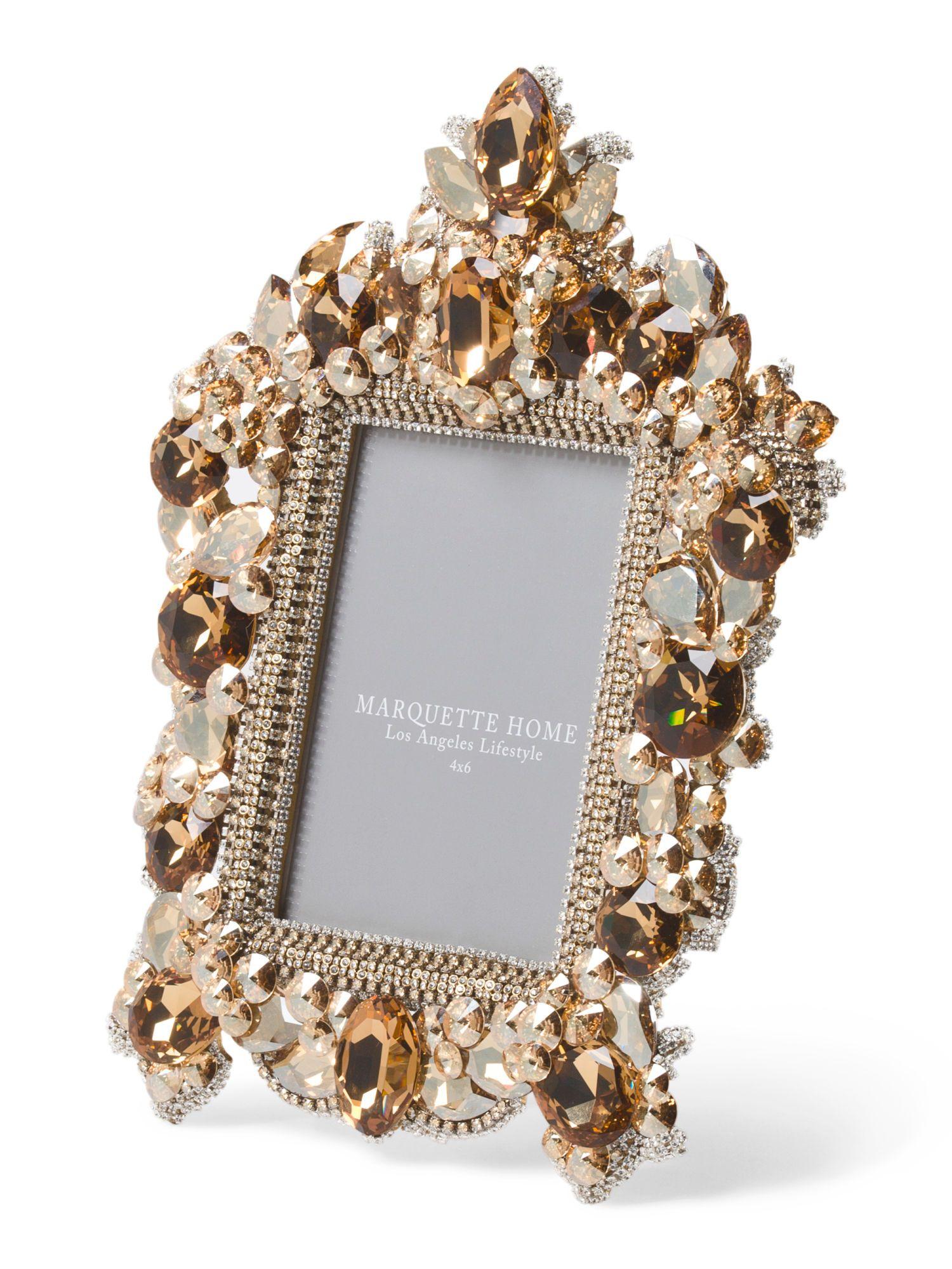4x6 Vintage Ornate Crystal Frame - Frames - T.J.Maxx | D.I.Y ...