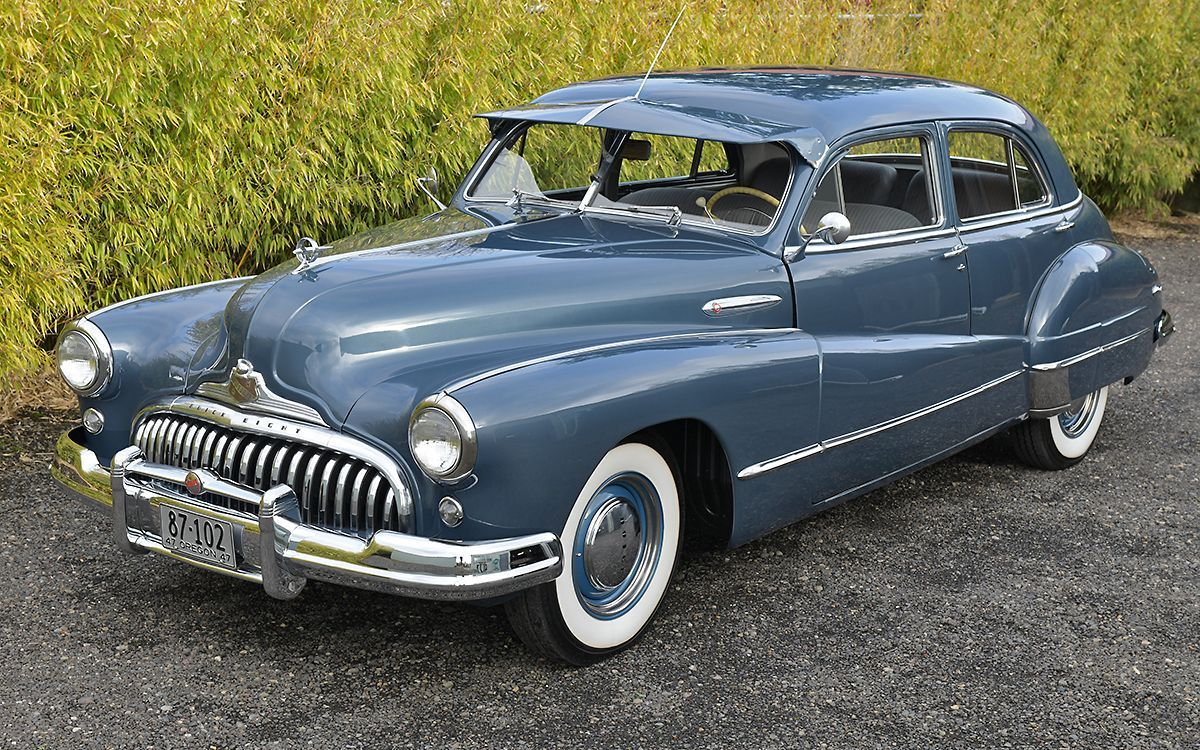 Bid for the chance to own a 1947 Buick Super 700R4 Automatic at auction with Bri…