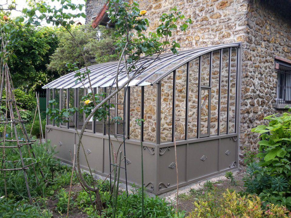 Image 1 Pose D Une Serre A L Ancienne Avec Soubassement Nantes 44 Loire Atlantique Jardin Couvert Serre Adossee Jardin D Hiver