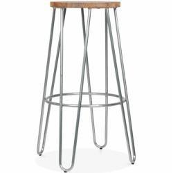 Photo of 76 cm bar stool Hairpin