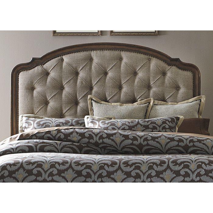 Astoria Grand Clyde Park Upholstered Headboard & Reviews | Wayfair