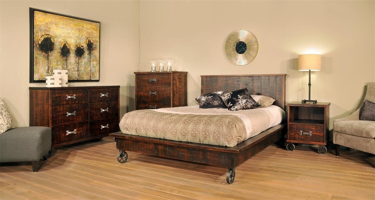 Ruff Sawn Anastasia Four Piece Bedroom Set Punk Bedroom Bedroom Furniture Sets Rustic Bedroom Decor