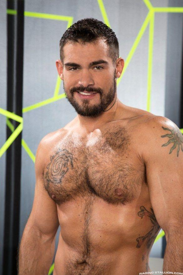 Hairy gay men