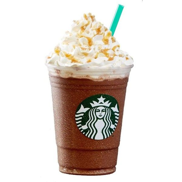 Salted Caramel Mocha Frappuccino Liked On Polyvore