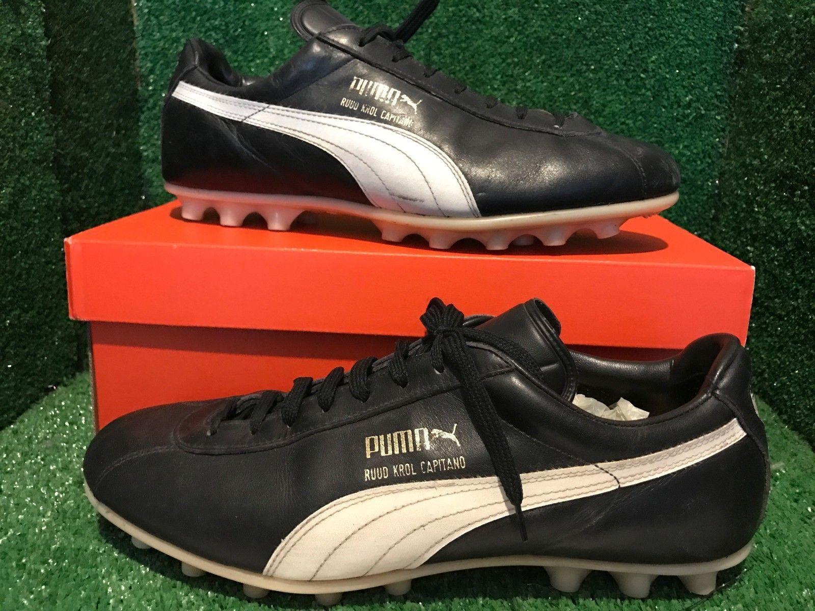 vintage puma shoes boots PUMA Ruud Krol soccer boots maradona WC Adidas 10  9 44  23232f472