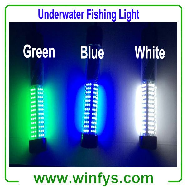 ip68 12v led underwater green fishing light stick submersible, Reel Combo