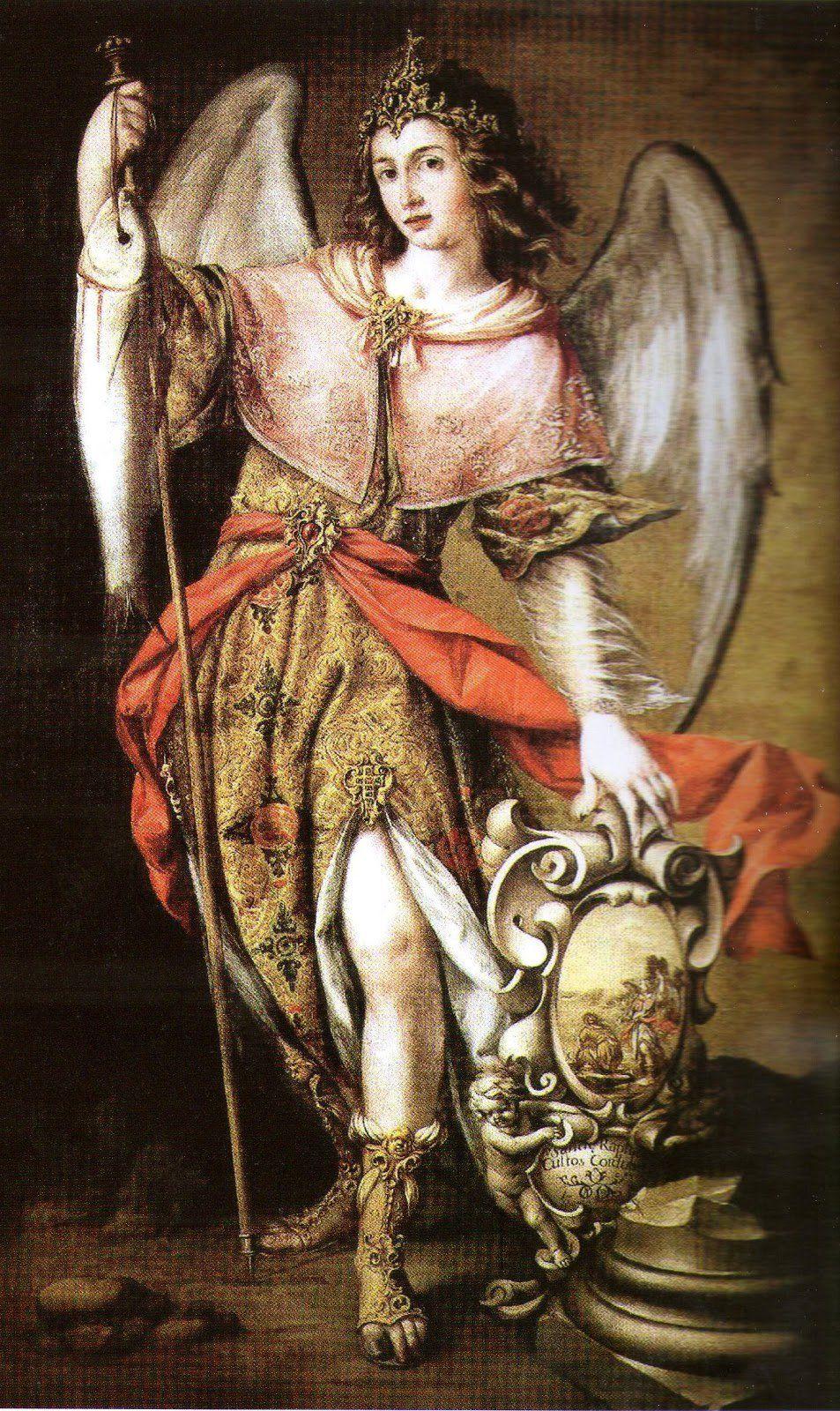 Arcangel Follando oración a san rafael arcángel para la sanación (con imágenes