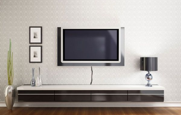 18 Chic And Modern Tv Wall Mount Ideas For Living Room Modern Tv Wall Tv Wall Mount And Tv Walls