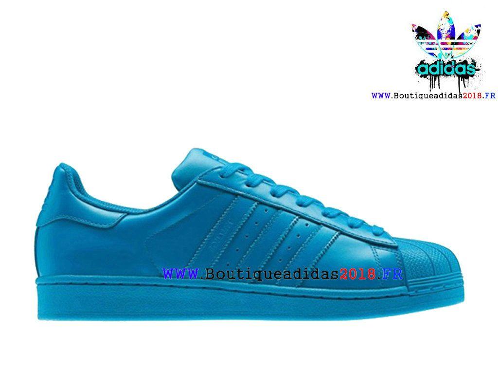 check-out 42582 17c0b Nouveau Adidas x Pharrell Williams Superstar Supercolor Pas ...